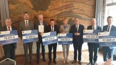 Promesa od Samorządu Województwa Pomorskiego na modernizację dróg w Gminie Miłoradz.