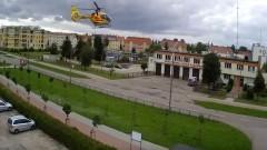 Starszą kobietę z podejrzeniem udaru zabrało LPR do Gdańska.