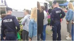 Policyjne kontrole miejsc użyteczności publicznej.