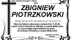 Zmarł Zbigniew Piotrzkowski. Żył 58 lat.