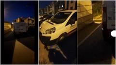 Mistrz (nie tylko) parkowania na Jagiellońskiej w Malborku.