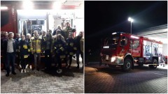 OSP Lipinka przywitała nowy wóz strażacki.