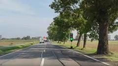 DK55. Uwaga, kierowcy! Trwa remont drogi na odcinku między Tragaminem a Dębiną.