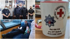 Policjanci z Malborka założyli Klub Honorowych Dawców Krwi.