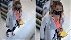 Pomóż ustalić tożsamość kobiety podejrzewanej o kradzież.