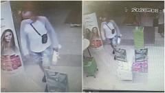 Policja prosi o pomoc w zidentyfikowaniu sprawcy kradzieży.