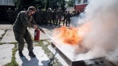 Terytorialsi bez wahania podjęli akcję ratunkową podczas pożaru kamienicy.