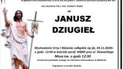 Zmarł Janusz Dziugieł. Żył 84 lata.