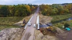 Koniec objazdu na odcinku Braniewo - Frombork. Most na rzece Baudzie oddany do użytku.