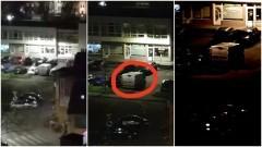 Malbork. Czy policjanci nocą pilnują biura poselskiego?