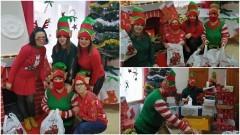 Gmina Nowy Staw. Pomimo pandemii, Mikołaj przygotował prezenty dla najmłodszych.