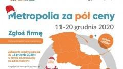 """Starostwo Powiatowe w Malborku zachęca do udziału w świątecznej akcji """"Poznaj Metropolię za pół ceny""""."""