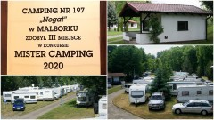 "Malborski camping wśród laureatów konkursu ""Mister Camping 2020""."