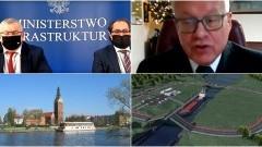 Przekop Mierzei Wiślanej - II Etap wybuduje Budimex za 574 mln zł - konferencja prasowa online