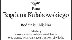 Zarząd, RN, Pracownicy Malborskiej Spółdzielni Mieszkaniowej składają kondolencje
