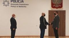Malbork. Podinsp. Dariusz Zeler objął stanowisko Komendanta Powiatowego Policji.