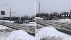 Malbork. Niebezpiecznie na drogach - policjanci apelują o zachowanie ostrożności.
