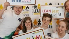 """Malbork. Uczniowie ZSP3 w kolejnym etapie projektu """"Młody Lean Lider""""."""