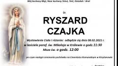 Zmarł Ryszard Czajka. Żył 71 lat.