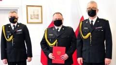 Malbork. Koniec próby - kpt. Damian Tomaszewski nowym zastępcą komendanta KP PSP.