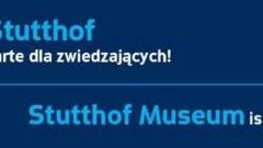 Sztutowo. Muzeum Stutthof otwarte dla zwiedzających.