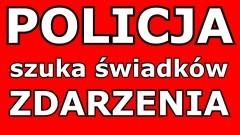 Policja w Malborku szuka świadków zdarzenia na Grudziądzkiej.