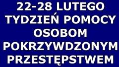 Malbork. Tydzień Pomocy Osobom Pokrzywdzonym Przestępstwem.