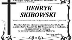 Zmarł Henryk Skibowski. Żył 70 lat.