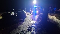 4 osoby trafiły do szpitala po uderzeniu osobówki w drzewo - weekendowy raport malborskich służb mundurowych.