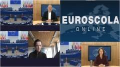 Malbork. Młodzież ZSP 3 wzięła udział w wirtualnej lekcji w Strasburgu.