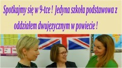 Malbork. SP 9 - jedyna szkoła w powiecie z oddziałem dwujęzycznym. Wkrótce rusza nabór.