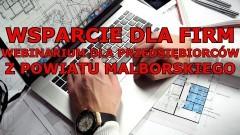 Malbork. Weź udział w webinarium Pomorskiej Specjalnej Strefy Ekonomicznej.