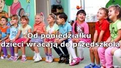 Od poniedziałku dzieci wracają do przedszkola. Co jeszcze się poluzowało w obostrzeniach?