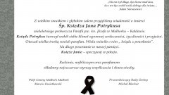 Kondolencje Wójta Gminy Malbork i Przewodniczącego Rady Gminy.