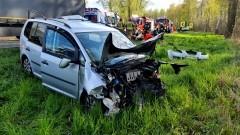 DK22. Śmiertelny wypadek w Karczowiskach Górnych.