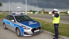 """Malbork. Kierowcy, noga z gazu. Dzisiaj policyjne działania """"Kaskadowy pomiar prędkości""""."""