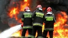 Pożar osobówki – weekendowy raport malborskich służb mundurowych.