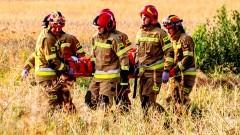 Poszkodowany zabrany LPR po wypadku w Brzózkach – weekendowy raport malborskich służb mundurowych.