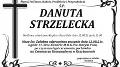 Zmarła Danuta Strzelecka. Żyła 93 lata.
