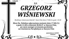 Zmarł Grzegorz Wiśniewski. Żył 50 lat.