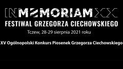 Tczew. Jubileusz XX – lecia In Memoriam Festiwal Grzegorza Ciechowskiego.