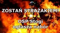 Malbork. Zostań strażakiem! OSP Stogi ogłasza nabór.