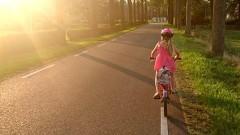 Malbork. Mała dziewczynka samotnie wybrała się rowerkiem w odwiedziny do babci.
