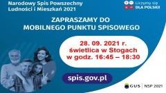 Gmina Malbork. Spisz się w Mobilnym Punkcie Spisowym w Stogach.