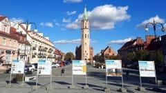 Nowy Staw. Wystawa plenerowa poświęcona Obszarowi Metropolitalnemu.
