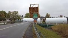 Rybina. Szkarpawą transportowane były zbiorniki z Gdańska do elbląskiego browaru. Zobacz nagranie wideo.