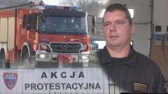 Strażacy chcą podwyżek! Malborska jednostka straży pożarnej przyłączyła się do ogólnopolskiej akcji protestacyjnej – 23.09.2015