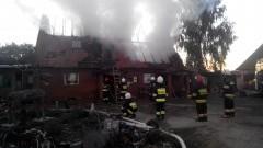 400 tys. zł strat po pożarze budynku mieszkalnego w Kornelach – 10.10.2015