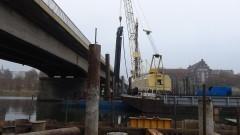 Brak sygnalizacji świetlnej i korki w godzinach szczytu. Kolejny raport z budowy II nitki mostu w Malborku – 05.11.2015