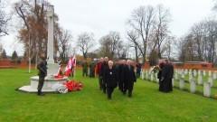 """232 zidentyfikowanych żołnierzy z lat 1939 - 1945. """"Remembrance Day"""" na Cmentarzu Wojennym Wspólnoty Brytyjskiej w Malborku - 12.11.2015"""